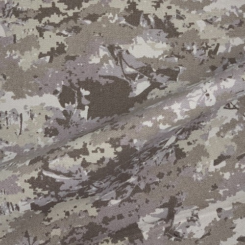 Wheat/Tan/Brown Treeline 12 ounce Canvas Carhartt Camouflage Print Woven Fabric - SKU 4487