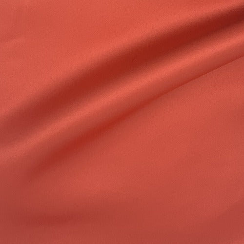 Coral Bridal Satin Woven Fabric - SKU 4312A