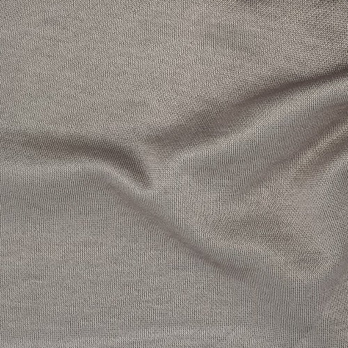 Solid Silver #SS53 Sateen Coordinate Double Knit Print Fabric - SKU 3605