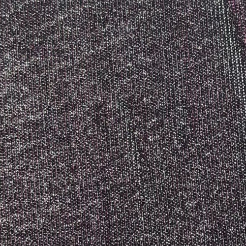 Silver/Berry Twinkle #S139 Lurex Fine Rib Knit Fabric - SKU 5915