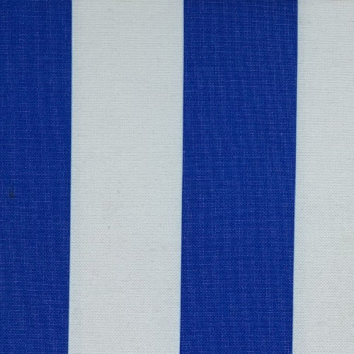 Royal #UB111 ProTuff Wide Stripe Print Waterproof Canvas Woven Fabric - SKU MYL 1532S