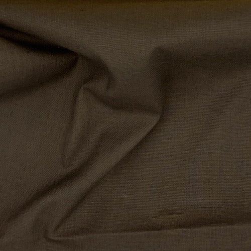 Brown #U80 Cotton/Polyester Broadcloth Shirting Woven Fabric - SKU 5801B