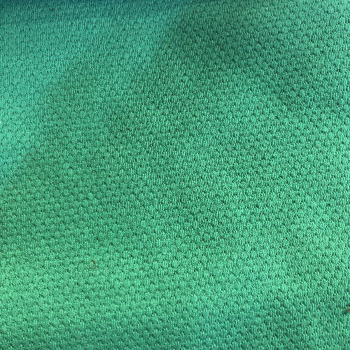 Green #S Popcorn Jersey Knit Fabric - SKU 5885