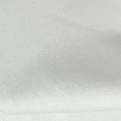 White #S190 Cotton/Lycra 12 Ounce Jersey Knit Fabric - SKU 5918B