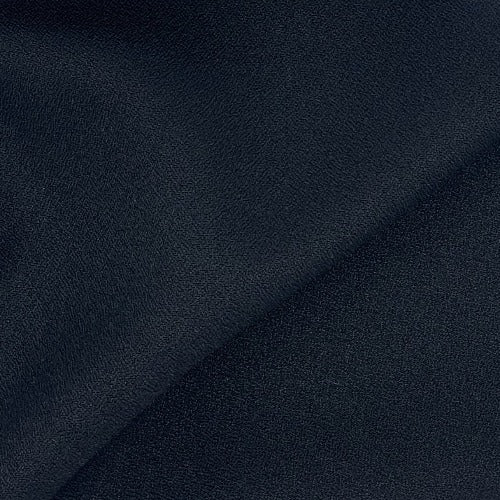 Black #S167 Pebble Crepe Suiting Woven Fabric - SKU 5934