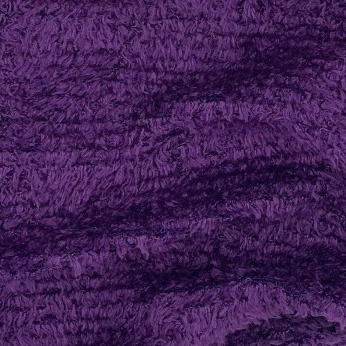 Purple #S114 Chenille Sweater Knit Fabric - SKU 1702