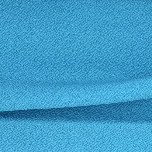 Turquoise Liverpool Double Knit Fabric - SKU 5361A