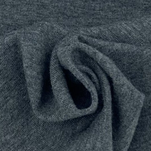 Light Charcoal 2T 10oz. Cotton/Spandex Jersey Knit Fabric - SKU 2853M Light Charcoal 2T