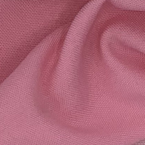 "Medium Pink 100% Polyester Poplin 60"" Wide Woven Fabric - SKU 4463C"