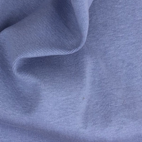 Blue #S/KK Cuffing 14 Ounce Rib Knit Fabric - SKU 5991