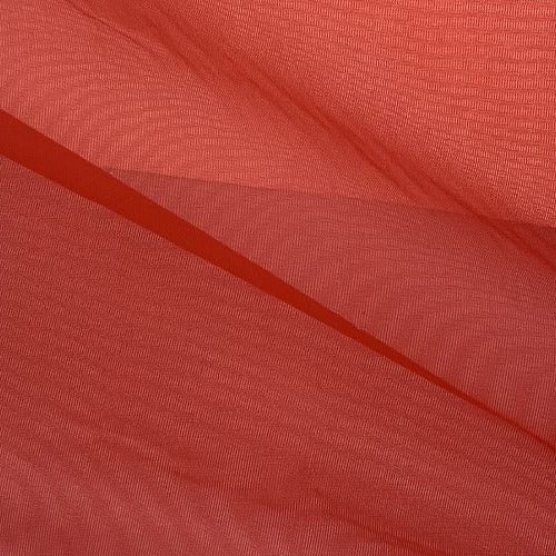 Red #S207 Stiff Tricot Knit Fabric - SKU 5440C Red