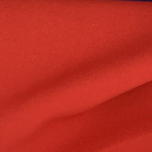 "Red #2 100% Polyester Poplin 60"" Wide Woven Fabric - SKU 4463D"