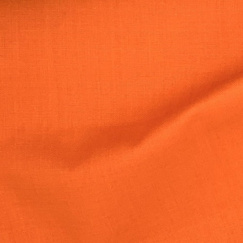 "Orange Cotton Sheeting 90"" Woven Fabric - SKU 2241B"