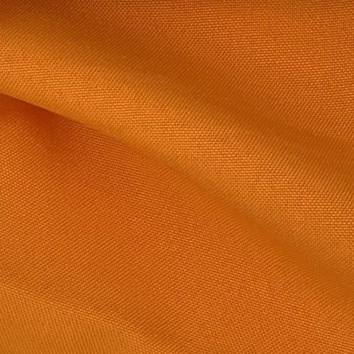"Orange 100% Polyester Poplin 60"" Wide Woven Fabric - SKU 4463C"