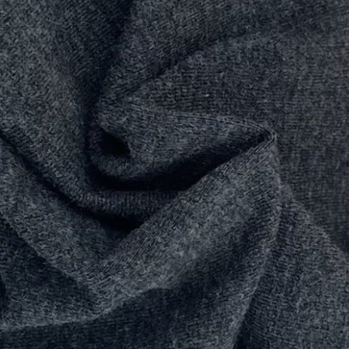Charcoal 2T 10oz. Cotton/Spandex Jersey Knit Fabric - SKU 2853M Charcoal 2T