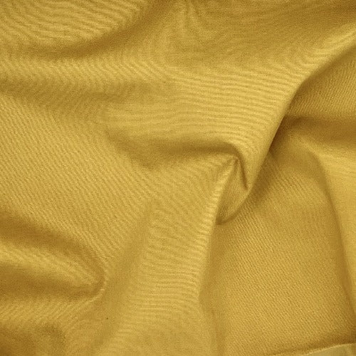 Gold 100% Cotton Solid Shirting Fabric - SKU 5784B