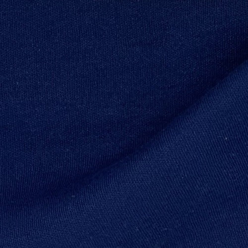 Navy #S/K Interlock (B) Knit Fabric - SKU 4337