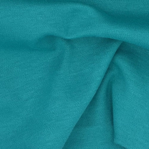Jade Dark #S/KK Polyester/Cotton 12 Ounce Interlock Knit Fabric - SKU 5828B