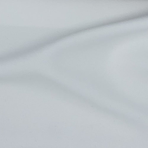 White #S167 Pebble Crepe Suiting Woven Fabric - SKU 5934