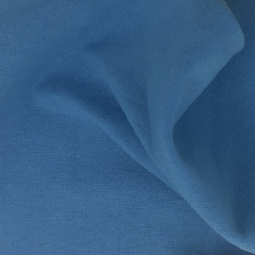 Blue #S184  Cotton/Lycra 12 Ounce Jersey Knit Fabric - SKU 5918A