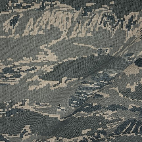 Green Army Digital Camouflage 8 Ounce Twill Print Woven Fabric - SKU 4899A