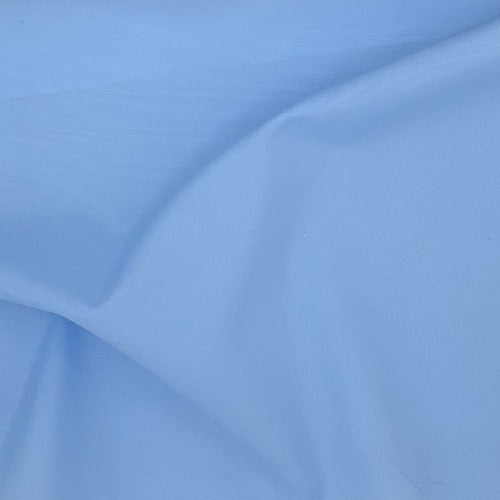 Light Blue #U80 Cotton/Polyester Broadcloth Shirting Woven Fabric - SKU 5801D