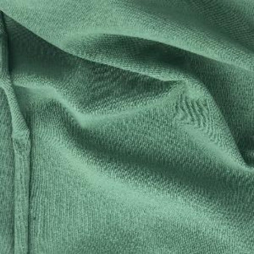 Dark Sage 10oz. Cotton/Spandex Jersey Knit Fabric - SKU 2853E