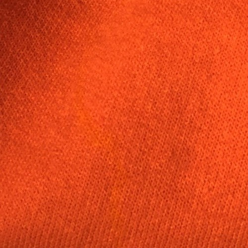 Orange #S14 Sweatshirt 10 Ounce Fleece Knit Fabric - SKU 5985