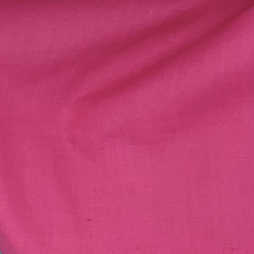 Hot Pink #U80 Cotton/Polyester Broadcloth Shirting Woven Fabric - SKU 5801B