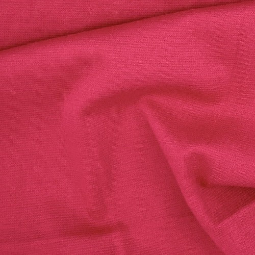 Hot Pink Ponte 12 Ounce Double Knit Fabric - SKU 5249