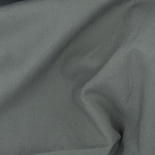Charcoal #U80 Cotton/Polyester Broadcloth Shirting Woven Fabric - SKU 5801C