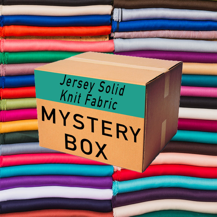 Jersey Solid Knit Mystery Fabric Box