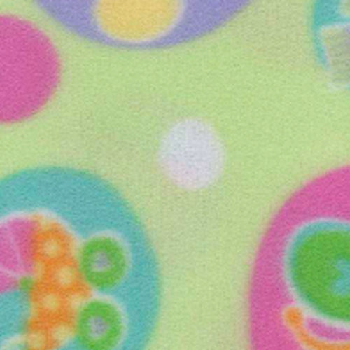 Mint Welcome Baby Polar Fleece Knit Fabric (75 Yards Roll)