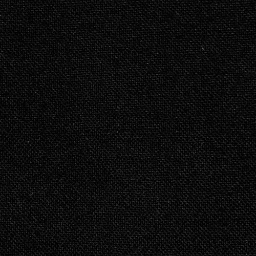Black #3 Plainweave Wool Suiting Woven Fabric 9 Yard Lot - SKU 4814 Blk 3-L
