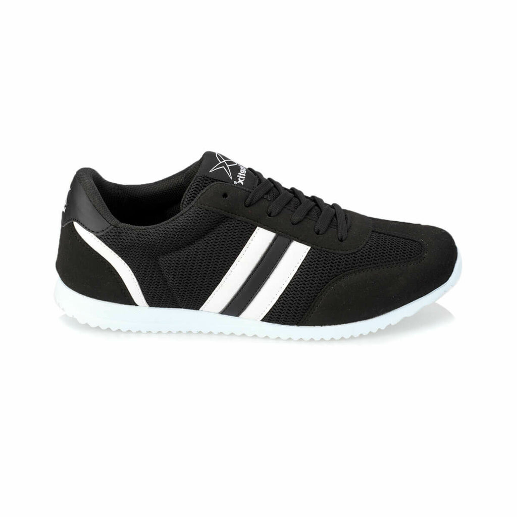 Black White Men's Sneakers - Pat&Sons