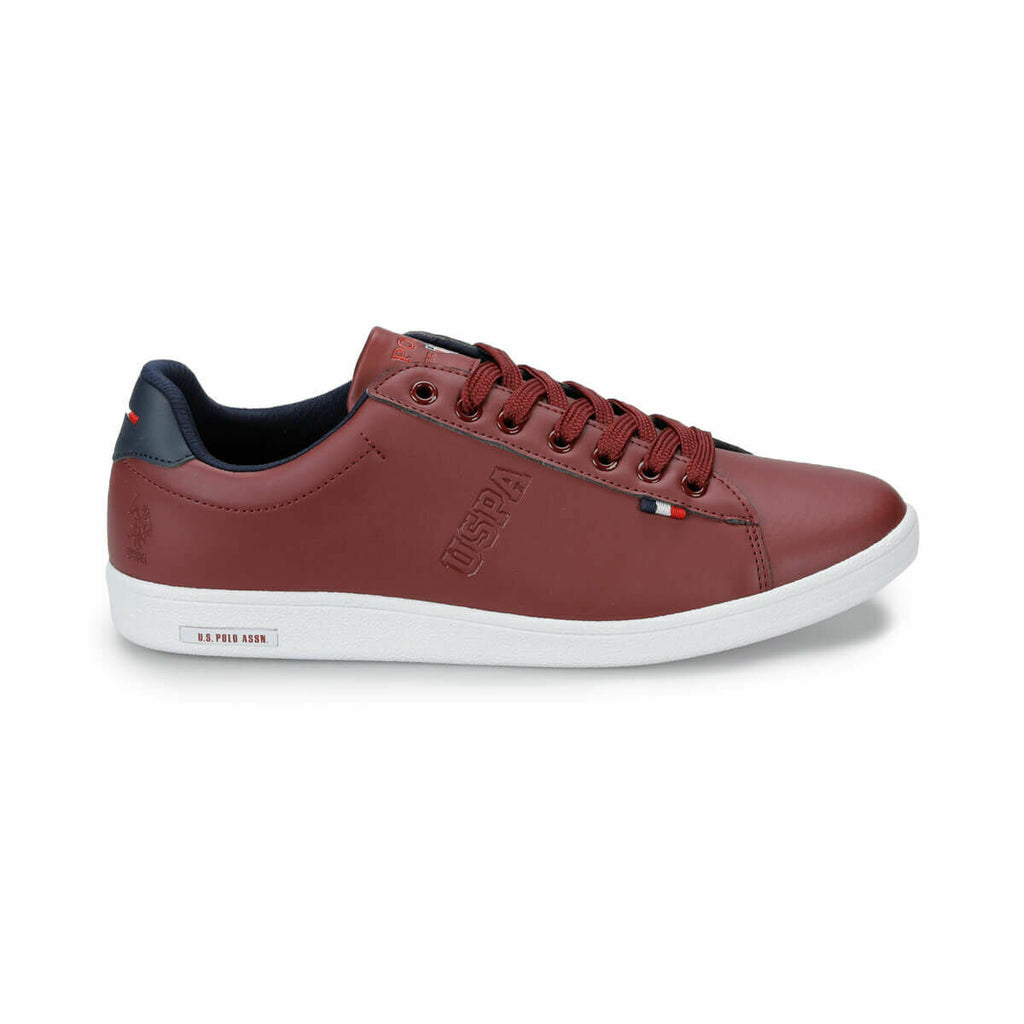 Claret Red Men's Sneakers - Pat&Sons