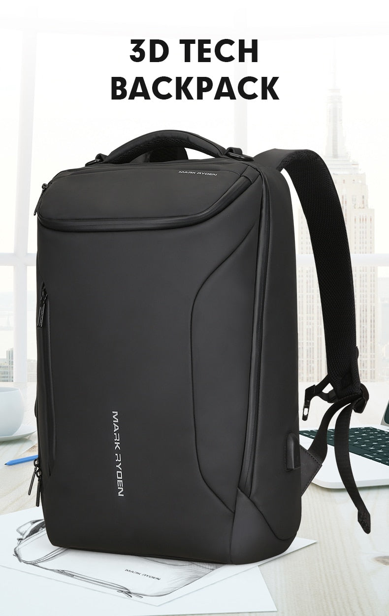 Anti-theft Multifunction 15.6inch Backpack