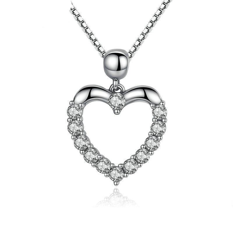 925 Sterling Silver Pendant Necklace - Pat&Sons