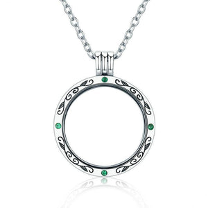 925 Sterling Silver Petite Floating Necklace - Pat&Sons