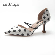 Load image into Gallery viewer, Polka Dot Pointed Toe Sandals - Pat&Sons