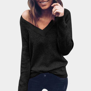 V Neck Sweater - Pat&Sons