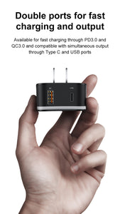 Travel Adapter with Detachable USB Plug - Pat&Sons