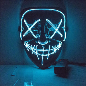 Glow In The Dark Neon Mask