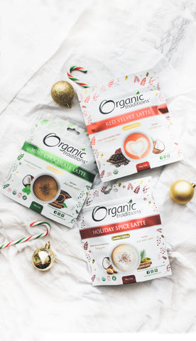 organic traditions limited edition holiday lattes