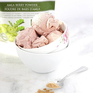 Dairy-Free Amla & Strawberry Ice Cream