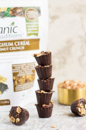 Healthy Crispy Peanut Butter Cups