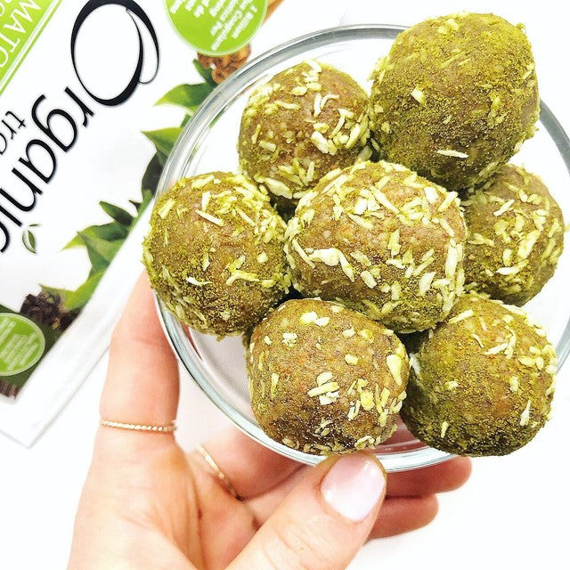 Matcha Lemon Bliss Balls