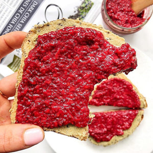 3 Ingredient Raspberry Chia Jam
