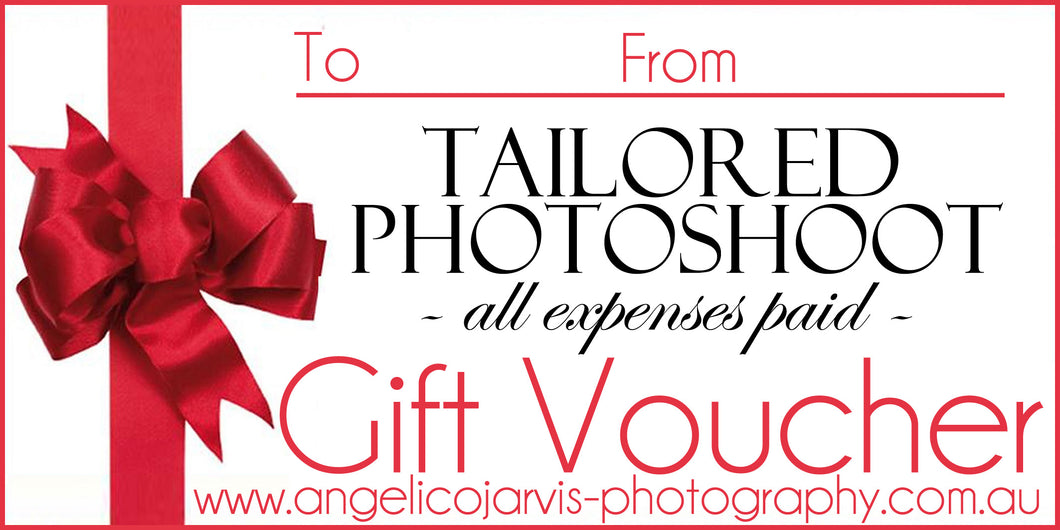 Complete Wedding Image Package *4 Hours* - Gift Voucher *120-240 Images Included*