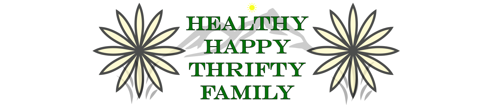 Healthy Happy Thrifty Family - Product Review